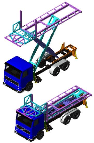 qantas-scissor-lift-trucks
