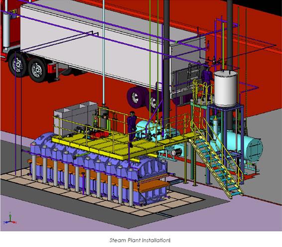 steam-plant-installation