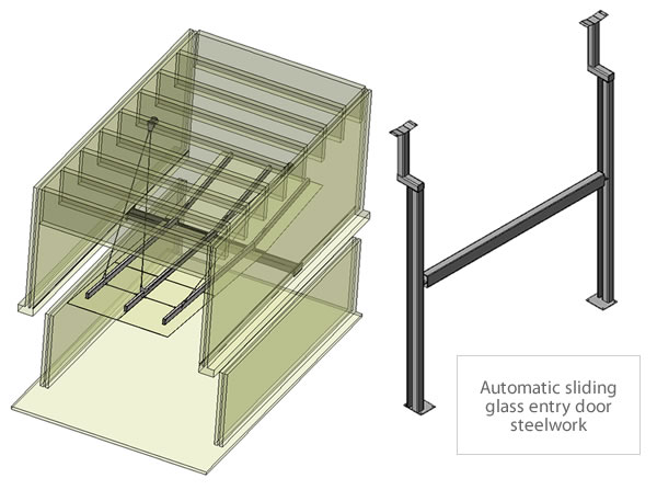 Quadro commercial office steelwork